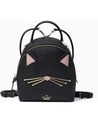 Kate Spade - Cats Meow - Binx Leather Backpack - Lyst