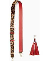 Kate Spade - Make It Mine Leopard Strap/tassel Pack - Lyst