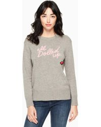 Kate Spade - All Dolled Up Sweater - Lyst