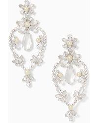Kate Spade - Flora Statement Earrings - Lyst