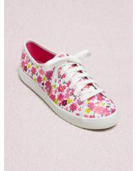 c657607d6b647 Kate Spade - Keds X New York Kickstart Floral Sneakers - Lyst