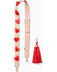 Kate Spade - Make It Mine Valentine Strap & Tassel - Lyst