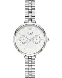 Kate Spade - Holland Multifunction Bracelet Watch - Lyst