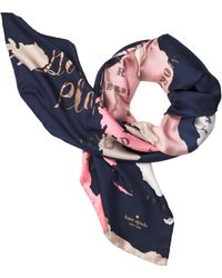 Kate Spade - Going Places Square Scarf - Lyst