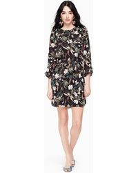 Kate Spade - Botanical Ruffle Mini Dress - Lyst