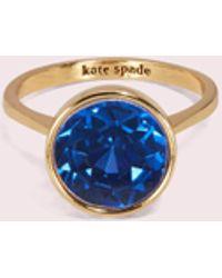 Kate Spade - Reflecting Pool Runder Ring - Lyst