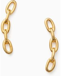 Kate Spade - Chain Reaction Link Ear Pins - Lyst