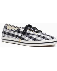 9bbd4ce0b145f Kate Spade - Keds X Gingham Champion Sneakers - Lyst