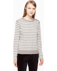 Kate Spade - Star Patch Jumper - Lyst