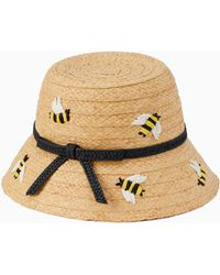 Kate Spade - Bee My Honey Cloche - Lyst