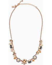 Kate Spade - Wild Garden Necklace - Lyst