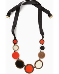 Kate Spade - Connect The Dots Statement Necklace - Lyst