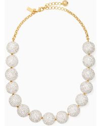 Kate Spade - Razzle Dazzle Statement Necklace - Lyst