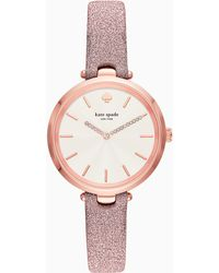 Kate Spade - Holland Metallic Rose Gold-tone Watch - Lyst