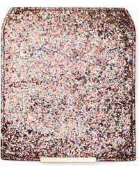 Kate Spade - Make It Mine Glitter Flap - Lyst