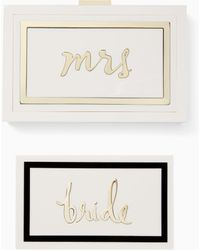 Kate Spade - Make It Mine Rylie Bridal Set - Lyst