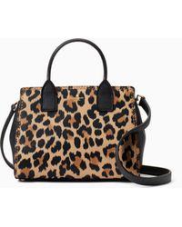 Kate Spade - Dunne Lane Leopard-print Small Lake - Lyst