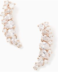 Kate Spade - Save The Date Graduated Ear Pins - Lyst