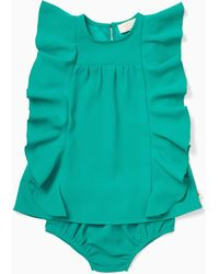 Kate Spade - Infant Cascading Ruffles Dress - Lyst