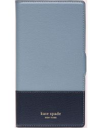 Kate Spade - Sylvia Iphone Xr Magnetic Wrap Folio Case - Lyst