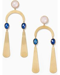 Kate Spade - Sunshine Stones Mobile Statement Earrings - Lyst