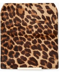 Kate Spade - Make It Mine Leopard Hair Calf Flap - Lyst