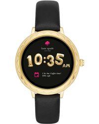 Kate Spade - Scallop Touchscreen Smartwatch - Lyst