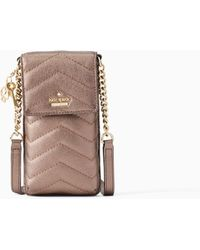Kate Spade - Quilted North South Crossbody Iphone Case - Lyst