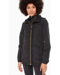 Kate Spade - Ruffle Anorak With Vest - Lyst