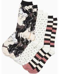 Kate Spade - Stallion Crew Sock Set - Lyst