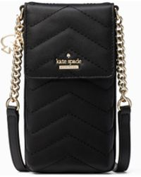 Kate Spade - Quilted North South Phone Crossbody Bag - Lyst