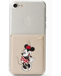 Kate Spade - New York For Minnie Mouse Sticker Pocket - Lyst
