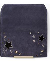 Kate Spade - Make It Mine Embellished Star Flap - Lyst