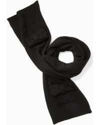 Kate Spade - Bow Scarf - Lyst