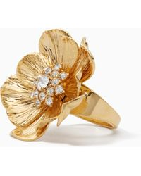 Kate Spade | Precious Poppies Ring | Lyst