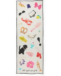 Kate Spade - Things We Love Oblong Scarf - Lyst