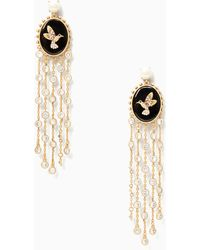 Kate Spade - Grandma's Wardrobe Statement Earrings - Lyst