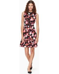 Kate Spade - Blooming Mini Dress - Lyst