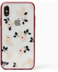 Kate Spade - Jewelled Camellia Iphone X Case - Lyst