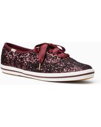Kate Spade - Keds X Glitter Sneakers - Lyst
