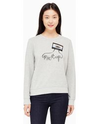 Kate Spade - Mix It Up Sweatshirt - Lyst