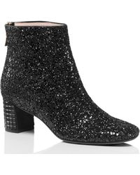 Kate Spade - Tal Glitter Ankle Boots - Lyst