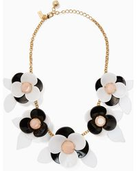 Kate Spade - Pick A Posy Statement Necklace - Lyst