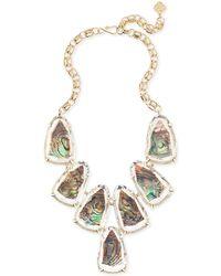 Kendra Scott - Harlow Gold Statement Necklace - Lyst