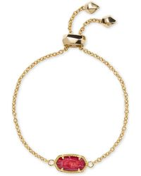 Kendra Scott - Elaina Gold Chain Bracelet - Lyst