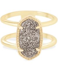 Kendra Scott - Elyse Gold Ring - Lyst