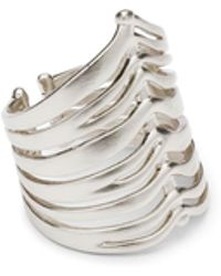 Kendra Scott - Liv Rhodium-plated Cocktial Ring - Lyst