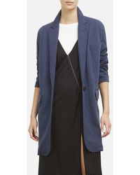 Kenneth Cole - Oversized Blazer Jacket In Pebble Jersey - Lyst