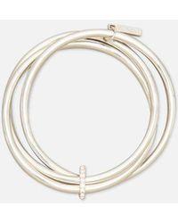 Kenneth Cole - Trinity Ring Silver-tone Bracelet - Lyst