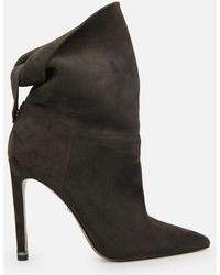 Kenneth Cole - Riley 110 Suede Slouch Bootie - Lyst